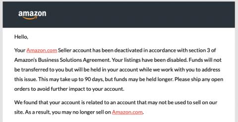 amazon related accounts suspension