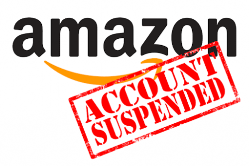 Amazon seller account suspended